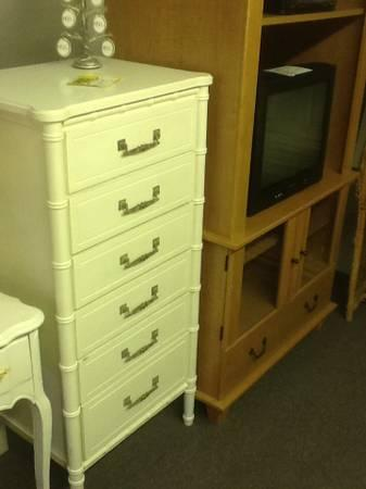 White Lingerie Chest For Sale In Lexington North Carolina Classified