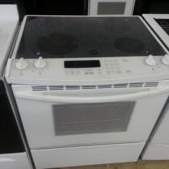 Kitchen Aid Electric Range Crocks White Porcelain Kitchenaid Slide-in - For ...