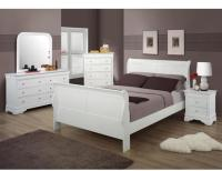 White Wood Bedroom Set - NEW - Full or Queen - (Mt ...