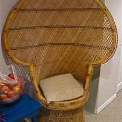 Fan Back Wicker Chair Kartell Masters Also Known As A Peacock - (louisville Metro) For Sale In Louisville ...
