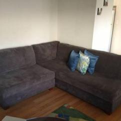 Leon S Mackenzie Sofa Italy Microfiber Sectional Classifieds Buy Sell Across The Usa Americanlisted