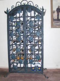 Wrought Iron Wine Cabinet for Sale in Mesa, Arizona ...