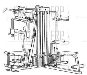 X5 Multi Station Dual Stack Weight Machine Saugatuck Mi