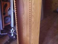 Amish Oak CD And Dvd Rack For Sale In Cozaddale Ohio
