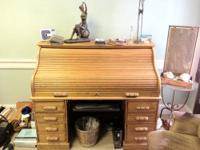 Oak Roll Top Desk For Sale In Pensacola Florida Classified