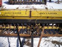 Ontario Grain Drill