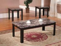 Cocktail Table And 2 Ends 3 Pack For Sale For Sale In