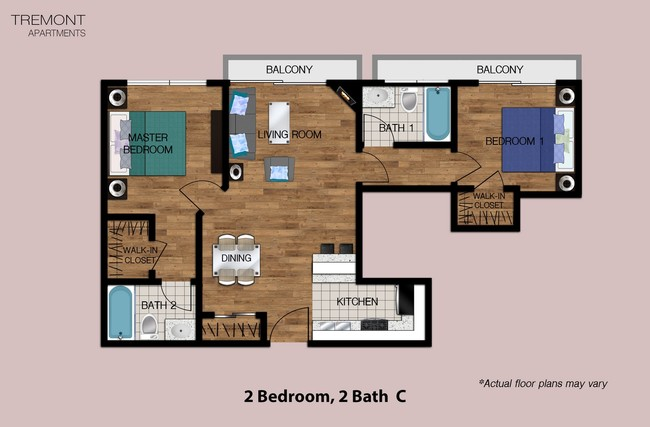 2 Bed 1 Bath Apartment In Los Angeles Ca Wyvernwood Garden