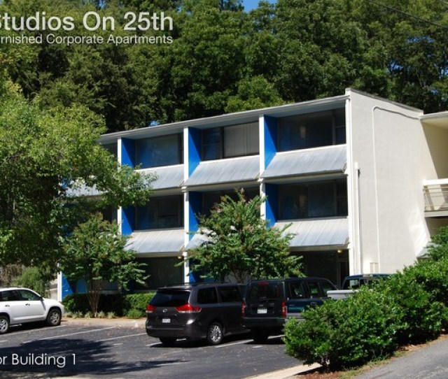 Building Photo Furnished Studio Apts Weekly Monthly