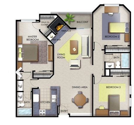 2 Bedroom Apartments For In Los Angeles Ca 1 312 Als