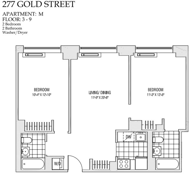 Apartment M Bklyn Gold