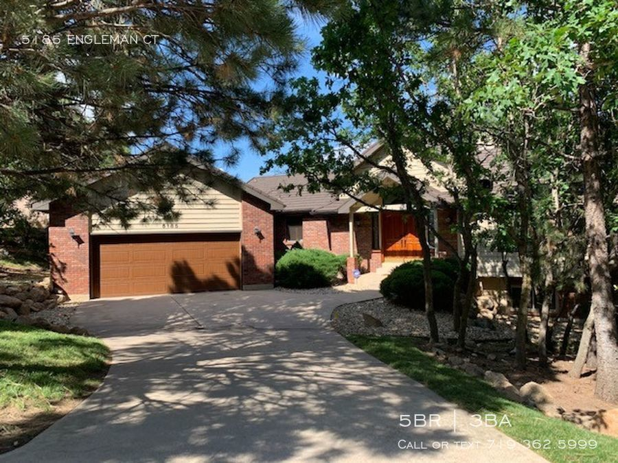 house for rent in colorado springs co