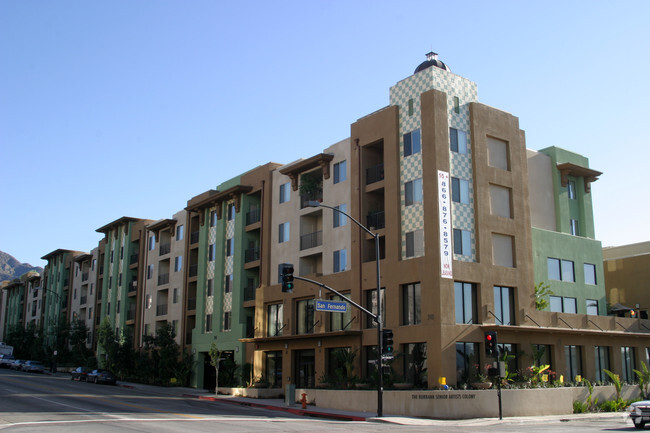 Burbank Senior Artist Colony Apartments
