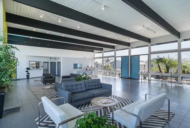 Main Lobby Huntington By The Sea Mobile Estates
