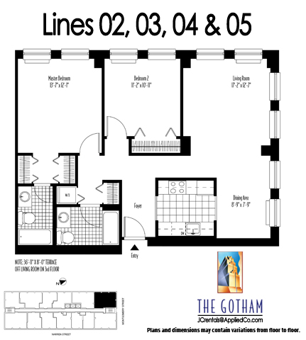 5 Bedroom Apartment Floor … New York City Apartments