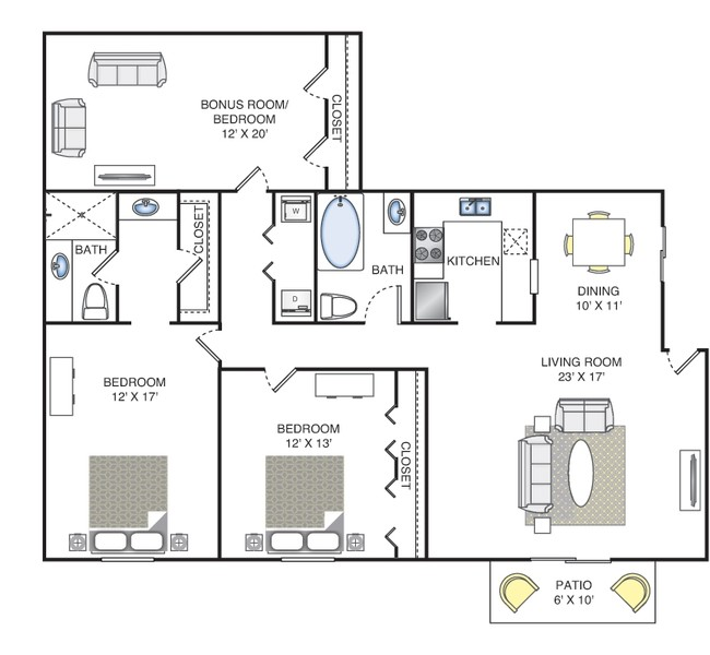 1 Bedroom Apartments Chattanooga Tn