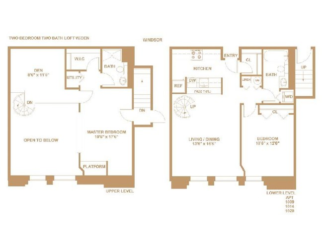 The Pennsylvanian Windsor 2 Beds Baths 965 Sq Ft