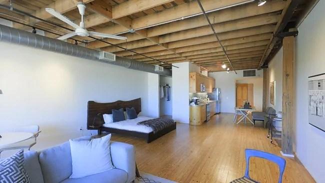 Studio 1ba 1 003 Sf Mitchell Lofts Apartments