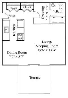 Golfside Apartments Apartments  Ypsilanti MI