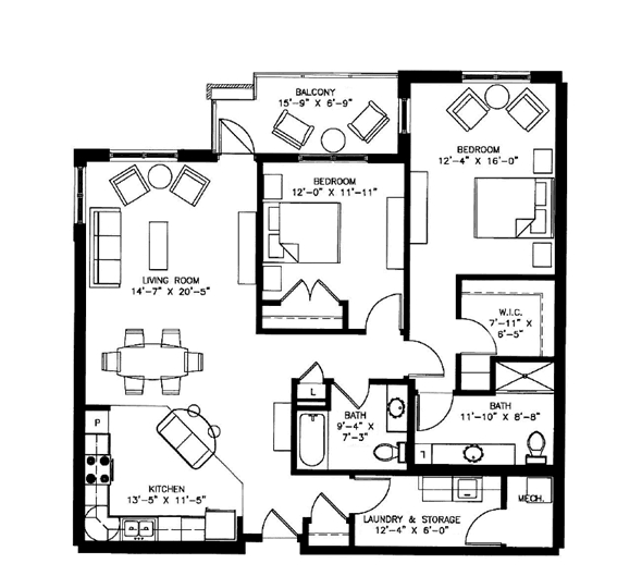 Picasso Floorplan
