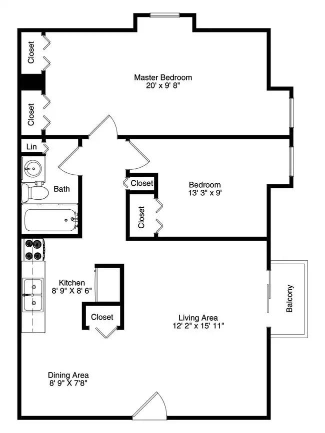Floorplan Jandal Apartments