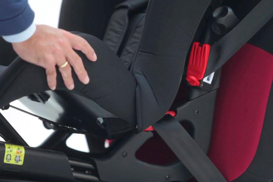 Cmo colocar sillitas infantiles con el cinturn de seguridad