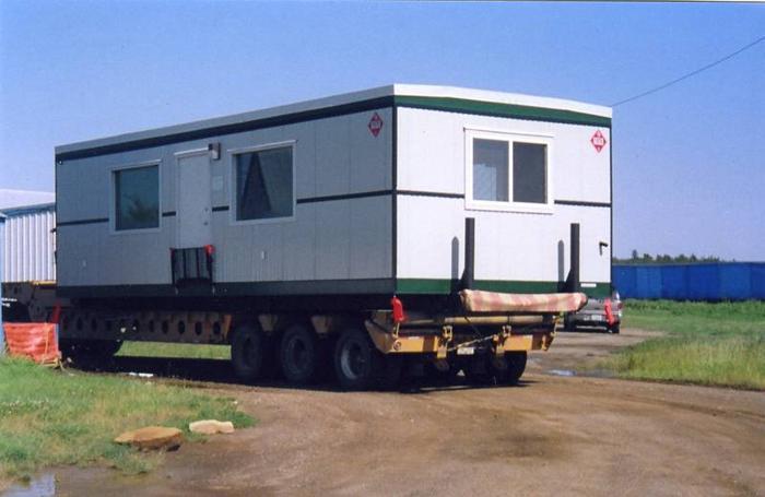folding floor sofa chair sectional sofas cincinnati ohio mobile oil field office trailer camp shack for sale ...