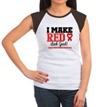 Heart Disease Women's Cap Sleeve T-Shirt