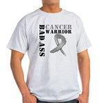 Brain Cancer Warrior Light T-Shirt