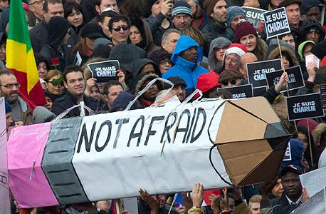 הצעדה נגד הטרור בפריז, השבוע