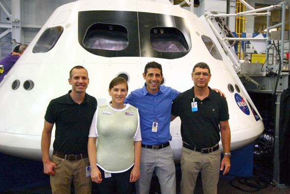 StemRad CEO Oren Milstein with colleagues. Photo: PR