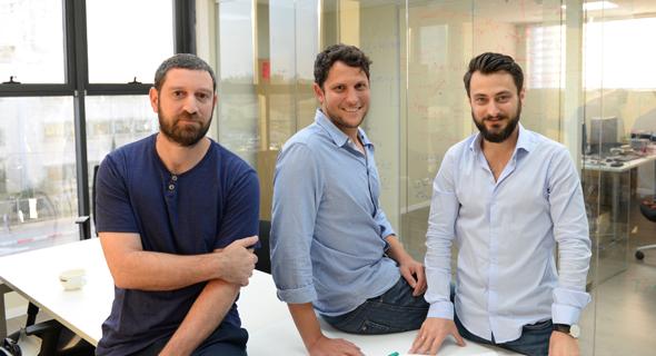 QM founders Nissim Ofek (left), Yonatan Cohen, Itamar Sivan. Photo: QM