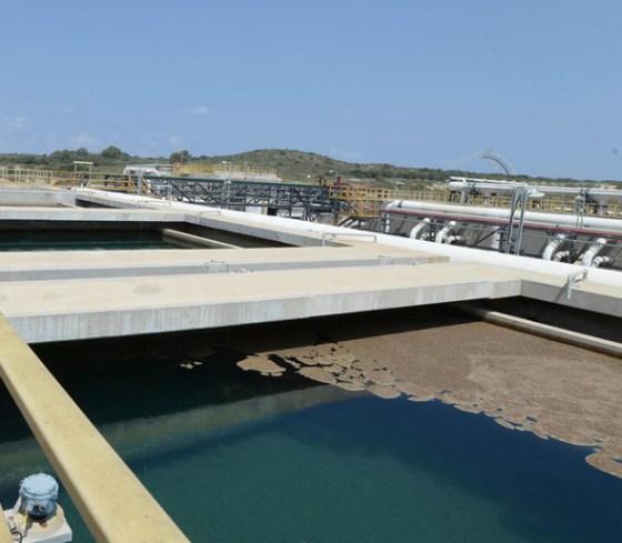 The desalination plant in Soreq