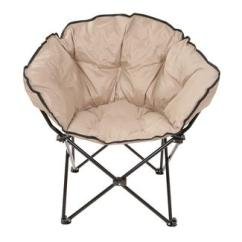 Saucer Chairs Sam S Club Nash Chair Accessories Folding Camping World Tan Small