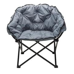 Rocky Oversized Folding Arm Chair Diy Office Camping Chairs World Charcoal Club