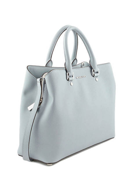Sac à Main Savannah Cuir Michael kors Bleu savannah S6SS7S3L vue secondaire 4
