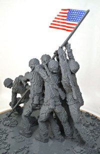 Lego images Lego Iwo Jima Memorial wallpaper and ...