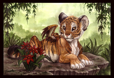 Images Of Cute Babies Wallpaper Free Download Winged Tigers Fantasy Fan Art 1163574 Fanpop