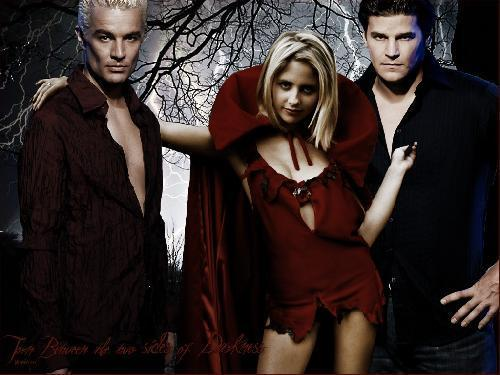 SMG,James Marsters & David Boreanaz