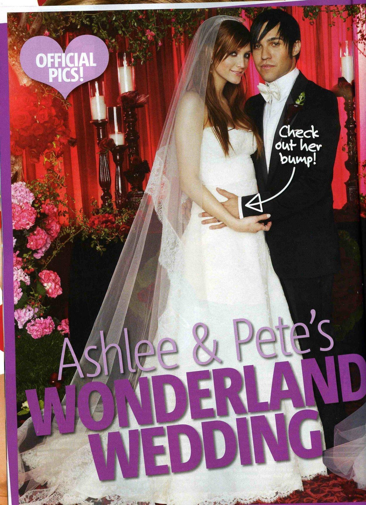 Ashlee  Pete Wedding  Ashlee Simpson Photo 1414983  Fanpop