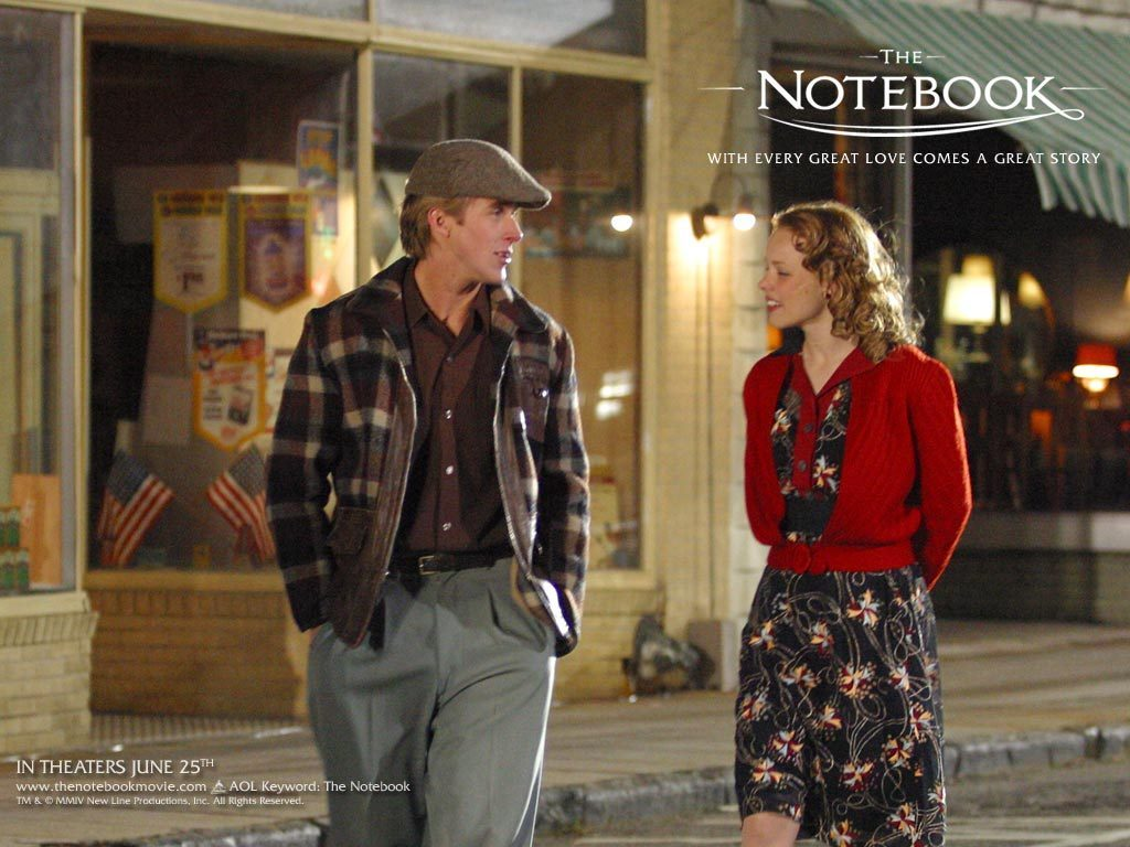 Vintage Fashion from The Notebook: Rachel McAdams and Ryan Gosling