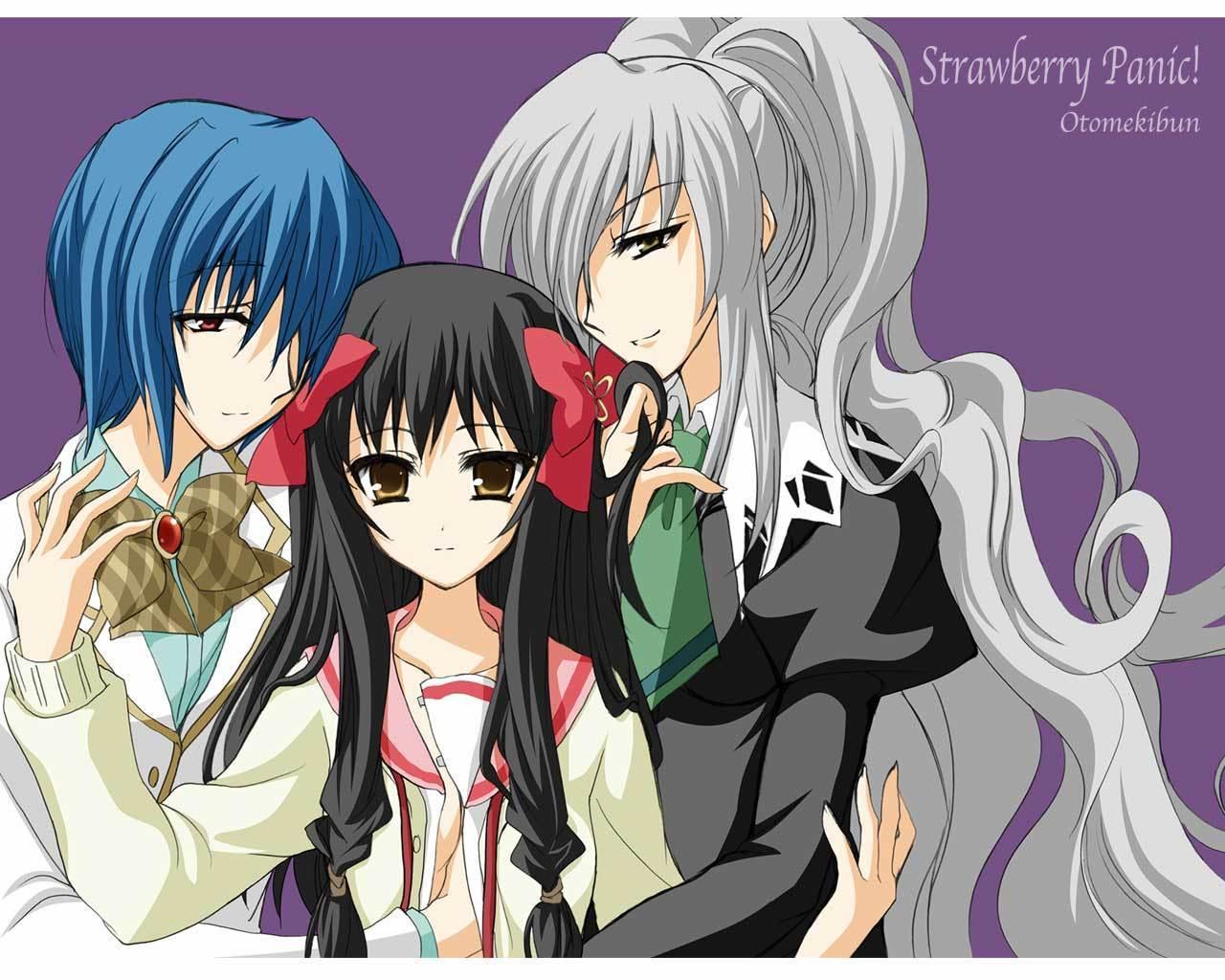 Anime Manga Wallpaper Strawberry Panic Images