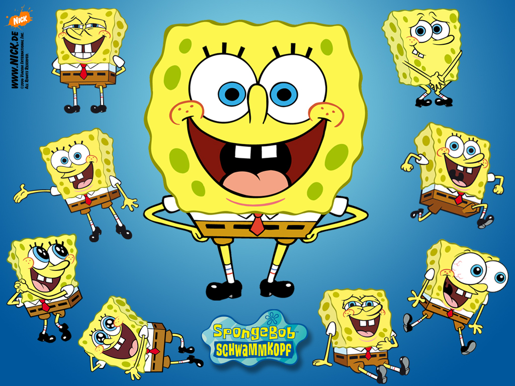 Spongebob Squarepants Popular Animated Cartoon