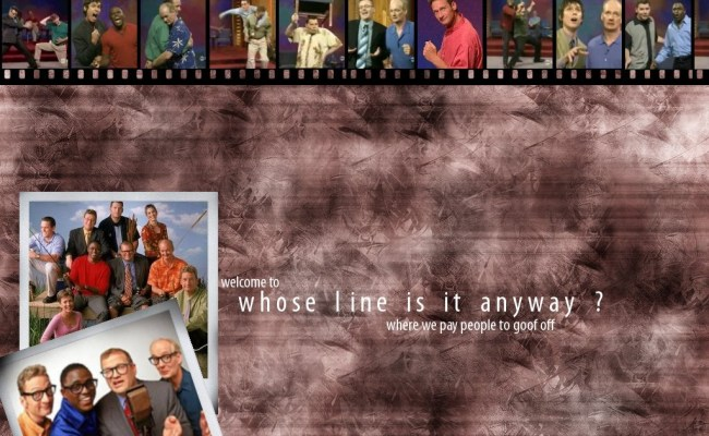 Whose Line Is It Anyway Images Whose Line Wallpaper Hd