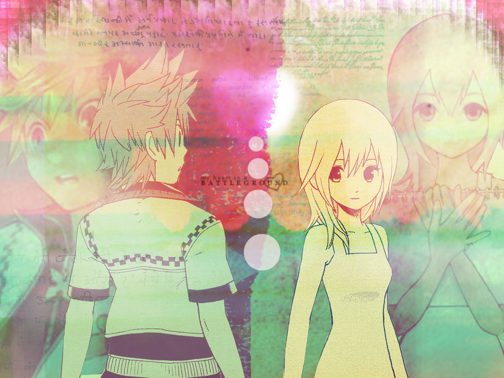 Breakfast Hd Wallpaper Roxas And Namine Images Namirox Hd Wallpaper And