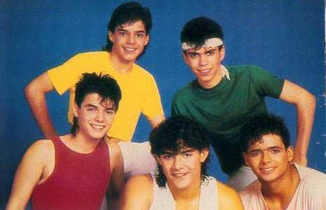 This boy band achieved its peak of fame in the mid 80s.