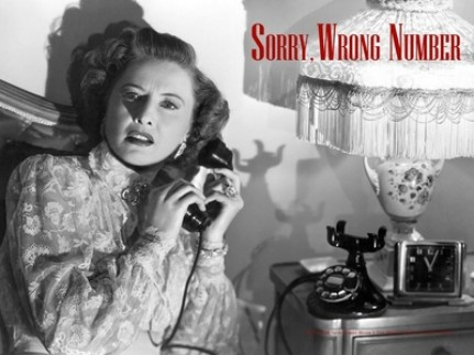 Image result for barbara stanwyck in sorry, wrong number