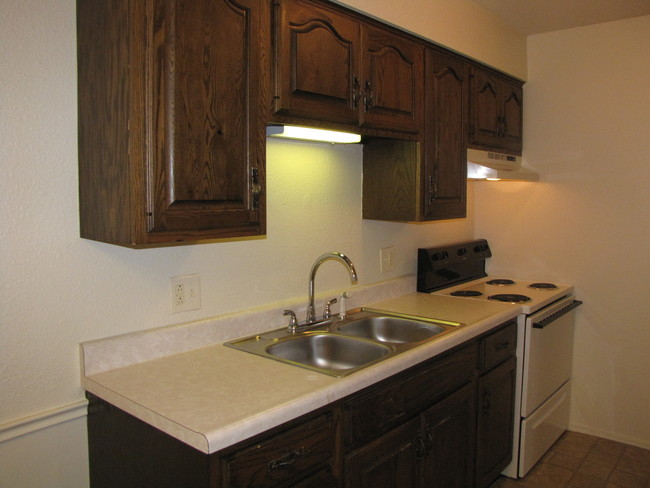 Fully Equipped Kitchen Jandal Apartments
