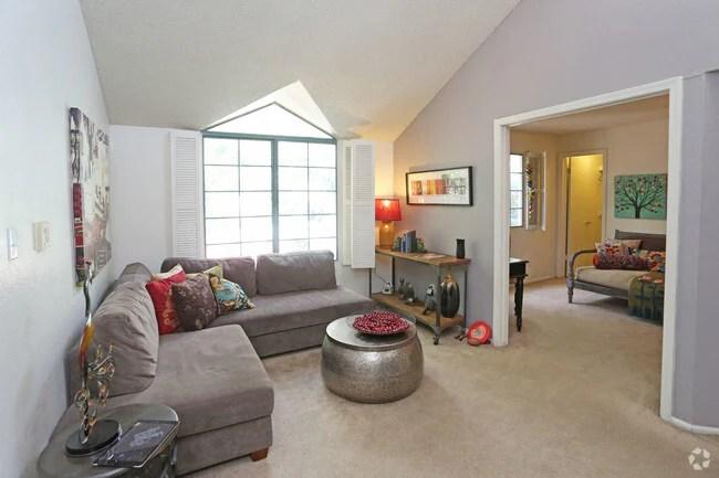 2br 1ba Livingroom Sun Village Apartments
