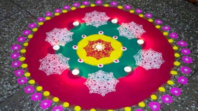 latest rangoli designs, rangoli designs 2018